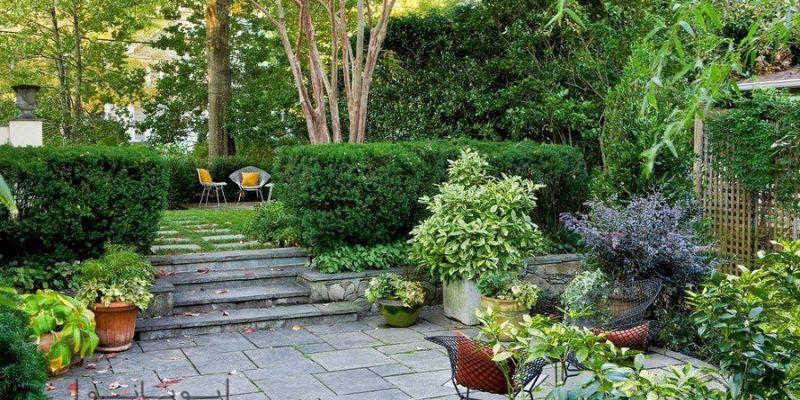 طراحی فضای سبز حیاط و باغچه : آن چه باید از هنر باغ آرایی بدانید