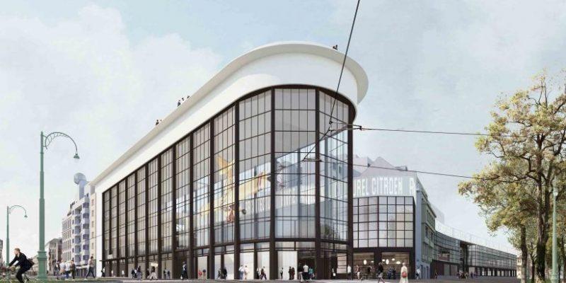 طراحی معماری مرکز فرهنگی پمپبدو سنتر بروکسل با تبدیل کارخانه سابق اتومبیل سازی