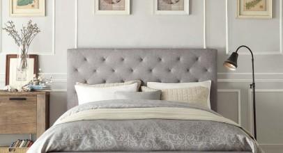 رنگ طوسی در اتاق خواب