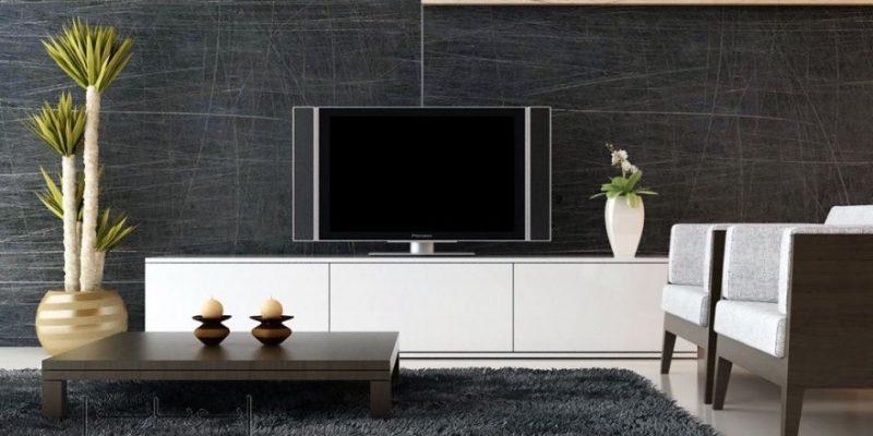 طراحی دکوراسیون دیوار پشت تلویزیون : روش های جذاب و مدرن