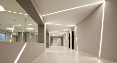 نورپردازی خطی در طراحی داخلی : مینیمالیسم و روشنایی