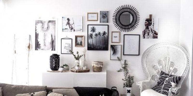دکور کردن دیوار : ۲۰ ایده متفاوت دکوراتیو برای جلوه بخشیدن به دیوار های خالی!