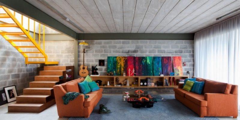 معماری و طراحی داخلی خانه Bandeiras باندیراس / شرکت معماری ARKITITO Arquitetura