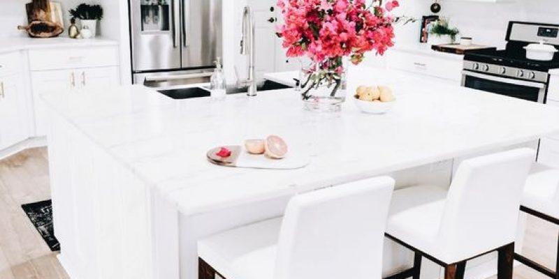 مدل های متنوع کابینت های سفید رنگ در آشپزخانه !