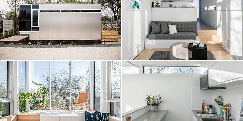 این خانه کوچک برای فضاهای زندگی کوچک طراحی شده است