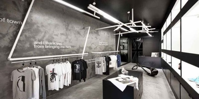 طراحی دکوراسیون بوتیک و فروشگاه و اصول تعیین کننده آن