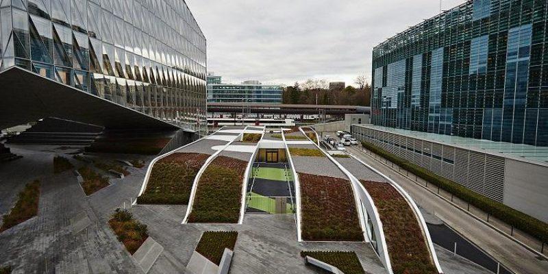 معماری مهد آموزشی کودکان اوریگامی | معماران GROUP8