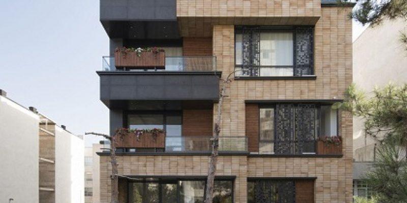 طراحی داخلی و نمای آپارتمان نیلوفر / معماری شرکت علیدوست و همکاران