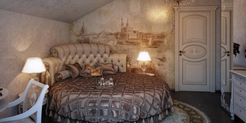 طراحی داخلی اتاق خواب های مجلل با ظرافت های کلاسیک