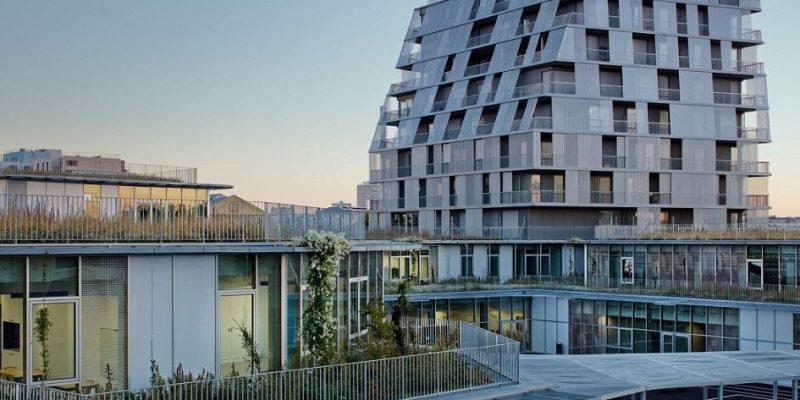 طراحی مجتمع آموزشی و خوابگاه دانشجویی فرانکلین / معماران Chartier Dalix