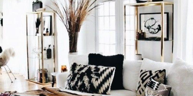 دکوراسیونی با رنگ های سیاه و سفید !