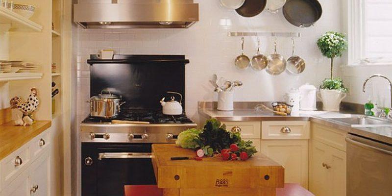 ۷ میز آشپزخانه کوچک با فضای زیاد
