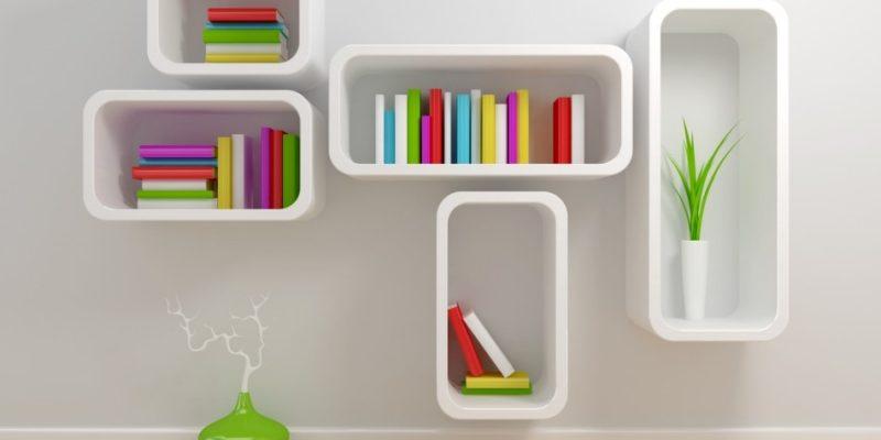 مدل های جدید کتابخانه خانگی جمع و جور در دکوراسیون داخلی