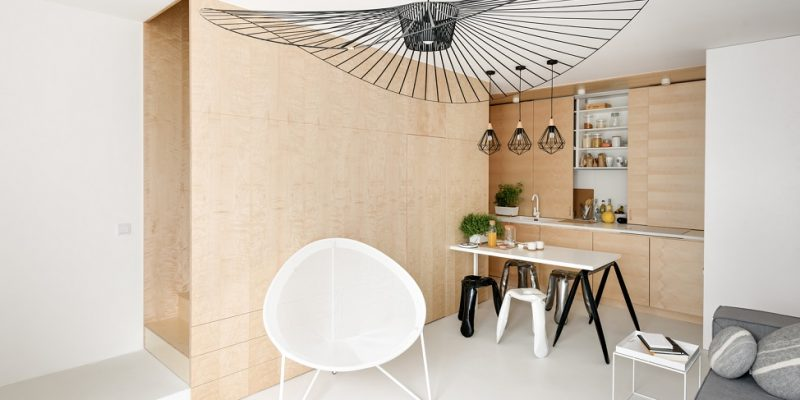 طراحی داخلی آپارتمان دوبلکس در Kurkowa / معماری ۳XA