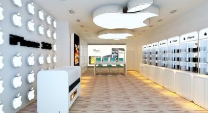 دکوراسیون فروشگاه موبایل و لوازم الکترونیکی