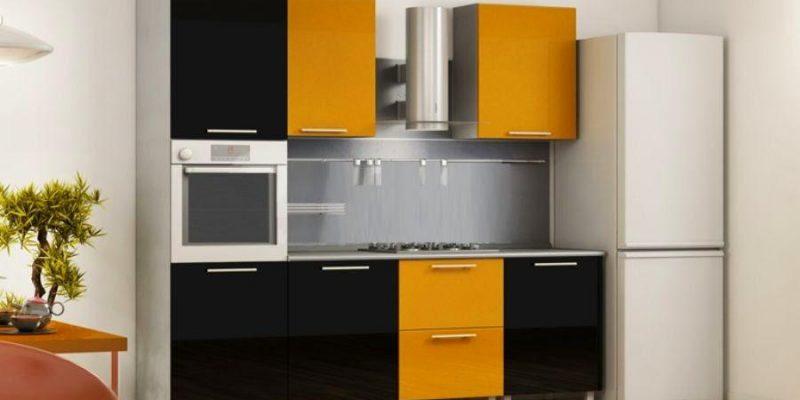 ۱۰ ایده برای کابینت آشپزخانه و دیزاین آشپزخانه کوچک
