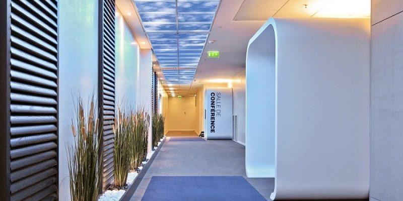 آسمان مجازی در طراحی داخلی : سقف کاذب به بلندای واقعیت