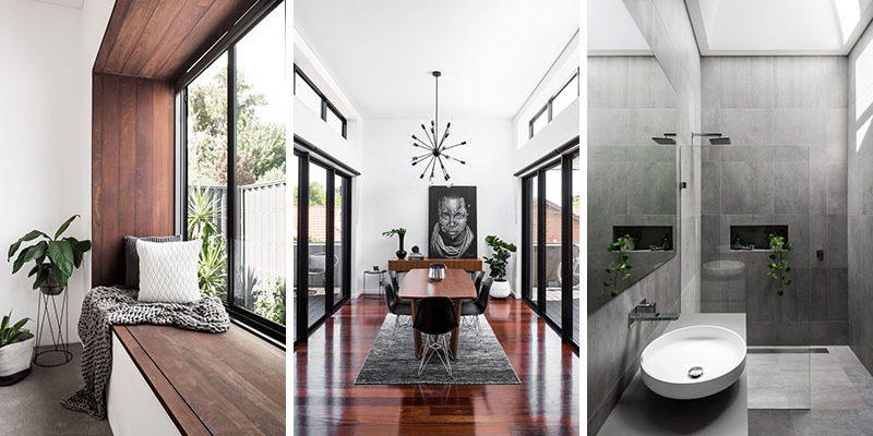 بازسازی خانه ۱۰۰ ساله به سبک معاصر در استرالیا