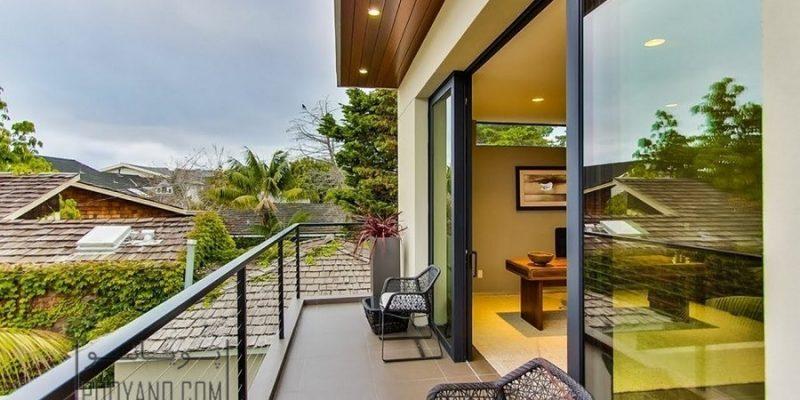 طراحی بالکن و تراس منزل با ایده های تابستانه