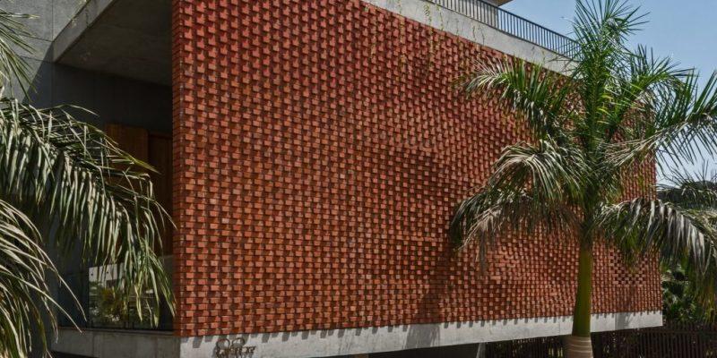 طراحی نمای ساختمان با آجر و مصالح کاربردی دیگر
