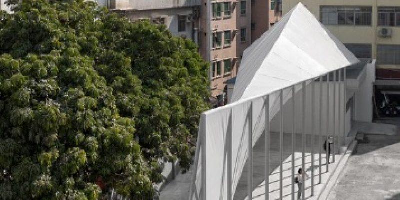 طراحی میدان روستا شهر Nantou / معماری NADAAA + Cooper Union