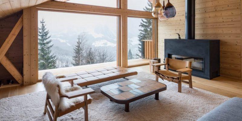 طراحی کلبه های زمستانی همچون پناهگاهی در برابر سرما