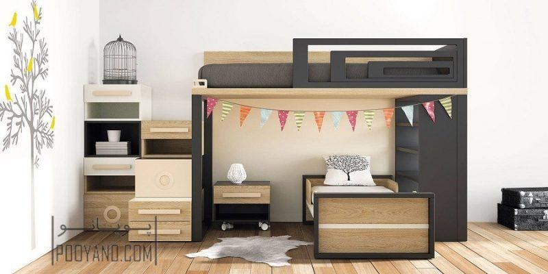 بزرگتر نشان دادن فضای اتاق های کوچک با ۱۰ روش طراحی دکوراسیون