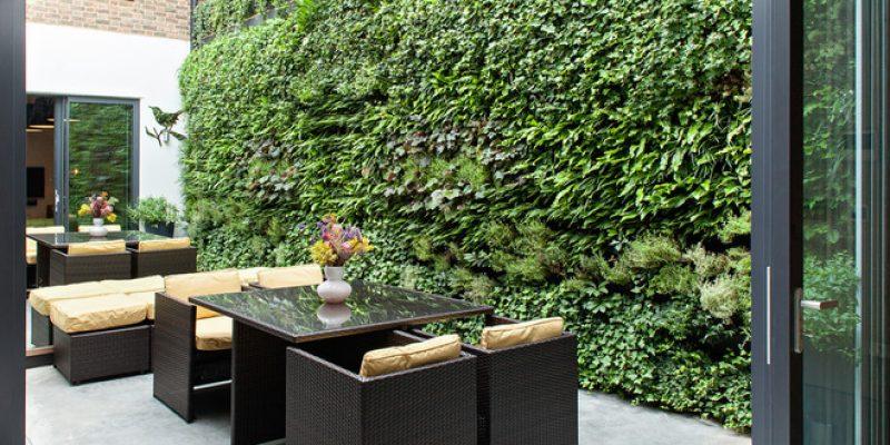 ۱۰ دلیل برای دوست داشتن باغ های عمودی(دیواری)