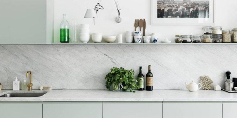 دکوراسیون آشپزخانه تمیز و مرتب با بکارگیری اصول ساده