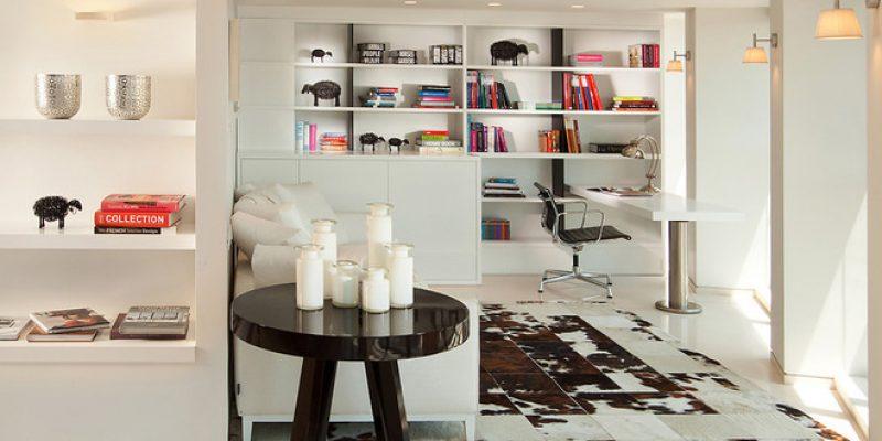 زیرانداز : راهنمایی برای فرش های پوست گاو در منزل