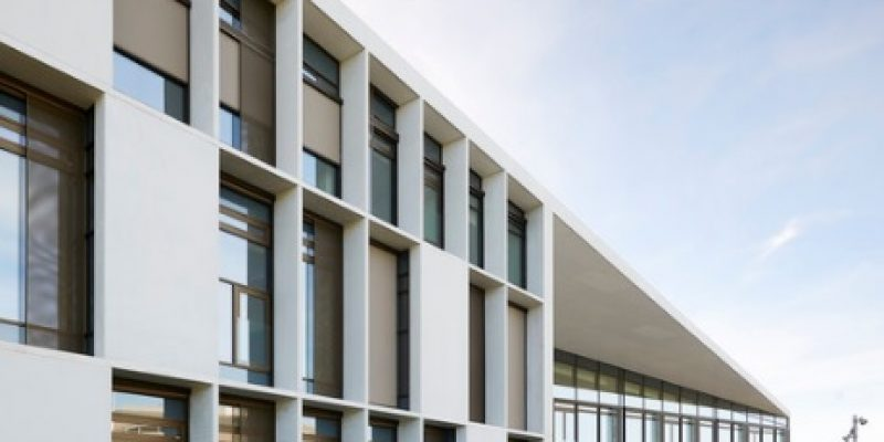 طراحی داخلی مدرسه فنی و حرفه ای هرنینگشلم/ C.F. Møller
