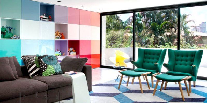 روانشناسی رنگ های زندگی بخش در طراحی دکوراسیون داخلی