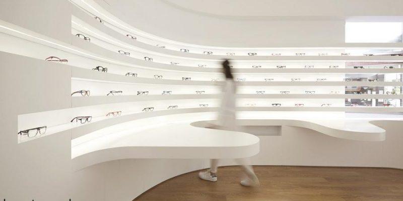 طراحی فروشگاه عینک فروشی / شرکت معماری Tsou Arquitectos