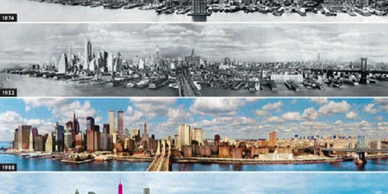 معماری گذشته در مقابل حال : تغییری چشمگیر در دورنمای ۱۰ کلان شهر جهان