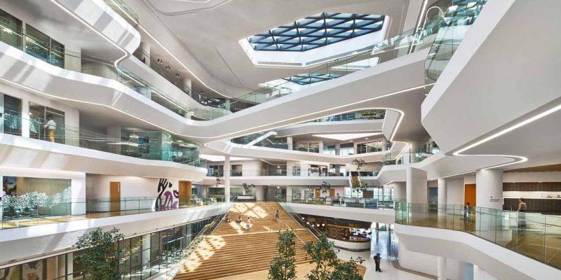 طراحی داخلی مجتمع اداری Unilever Headquarters / شرکت معماری Aedas