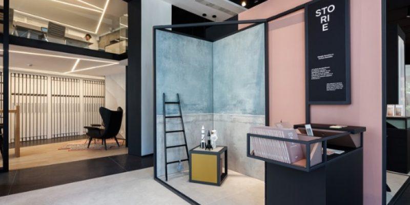 طراحی داخلی نمایشگاه pointONE پوینت وان / Suto Interior Architects