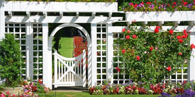 تزیین باغچه و حیاط منزل با ایده های روز