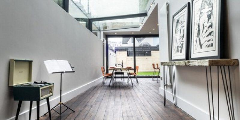 طراحی داخلی خانه شیشه ای / معماری Glen Thomas