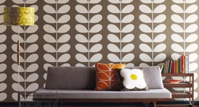 انواع الگو های کاغذ دیواری در طراحی دکوراسیون داخلی