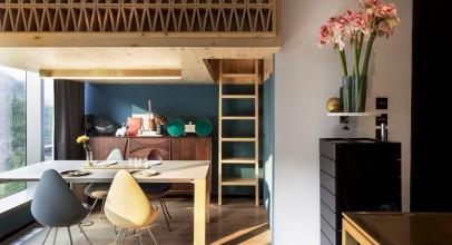 بازسازی و طراحی داخلی خانه درختی در هنگکنگ