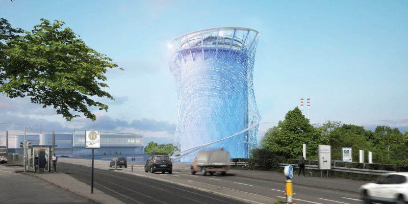 معماری و طراحی پروژه برج انرژی با سازه ای مجسمه ای در آلمان / معماری LAVA