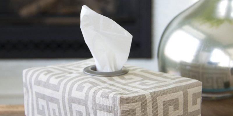 آموزش دوخت روکش جعبه دستمال کاغذی : خودتان در منزل طراحی کنید!