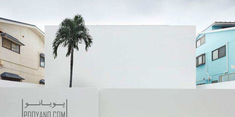 نمای بدون پنجره خانه ای ساحلی در Kanagawa / معماری Shinichi Ogawa و همکاران