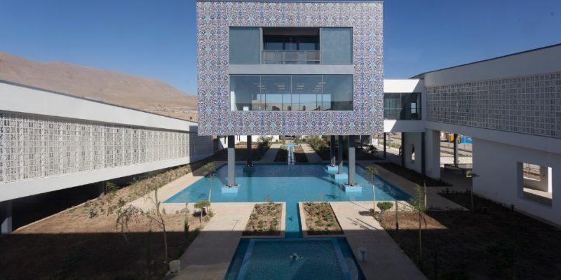 طراحی باغ موزه گیاهان دارویی / Modaam Architects