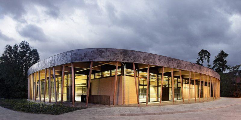 طراحی سالن ورزشی Schuldorf Bergstrasse / معماری Loewer + Partner Architekten