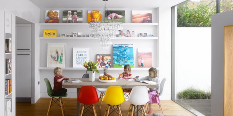 طراحی های داخلی فضای غذاخوری