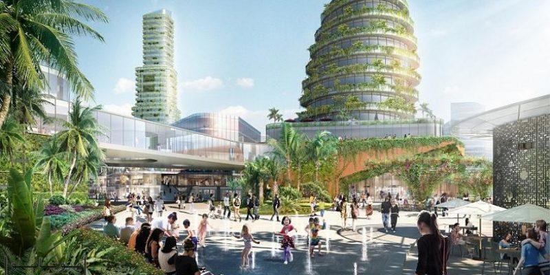 """طرح جامع گروه معماری ساساکی (Sasaki) در مالزی به نام """"شهر جنگل"""""""