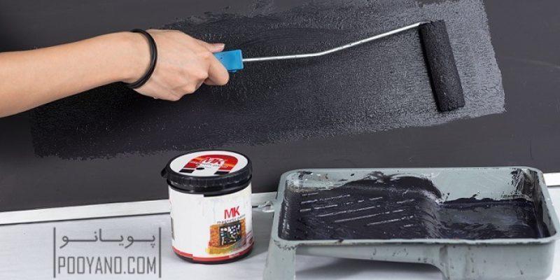 نقاشی کردن دیوار با رنگ مگنتیک : جذابیت را به دکوراسیون بیاورید