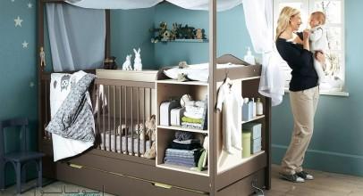 دکور اتاق نوزاد : قدم به قدم تا اجرای کامل چیدمان