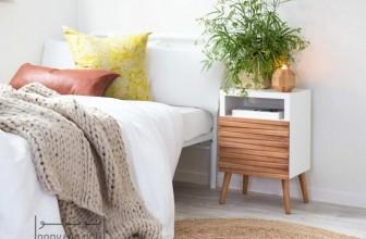 میز پا تختی در اتاق خواب : این ایده های جالب را امتحان کنید!
